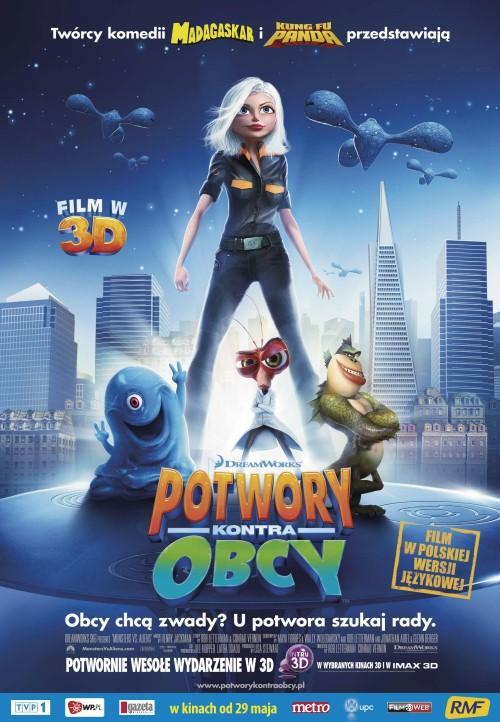 Potwory Kontra Obcy / Monsters vs Aliens
