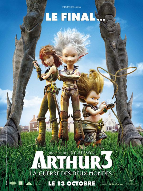 Artur i Minimki 3. Dwa Światy / Arthur et la guerre des deux mondes
