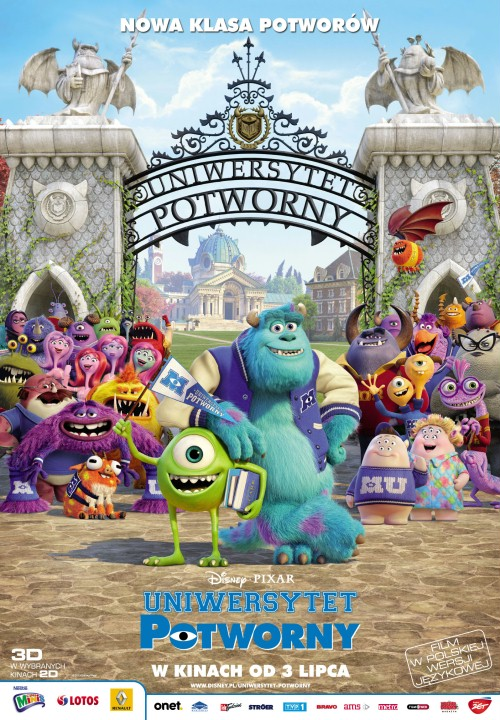 Uniwersytet potworny / Monsters University
