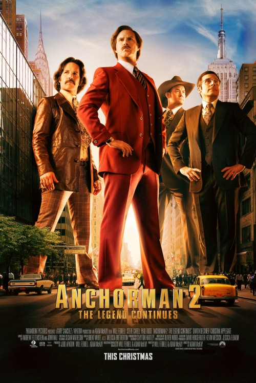 Legenda telewizji 2 / Anchorman 2 The Legend Continues
