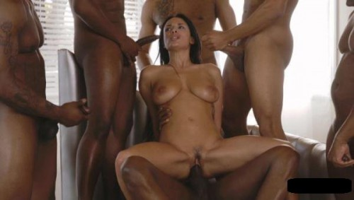 Anissa Kate - Interracial Gang Bang Hot Latina