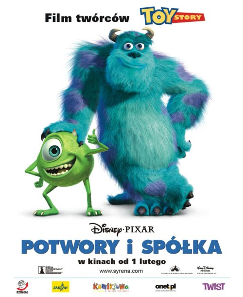 Potwory i spółka / Monsters Inc