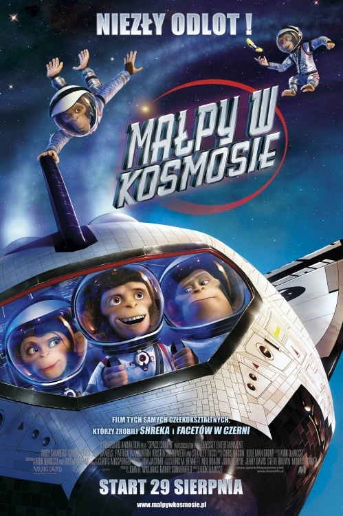Małpy w kosmosie / Space Chimps