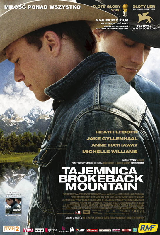 Tajemnica Brokeback Mountain / Brokeback Mountain