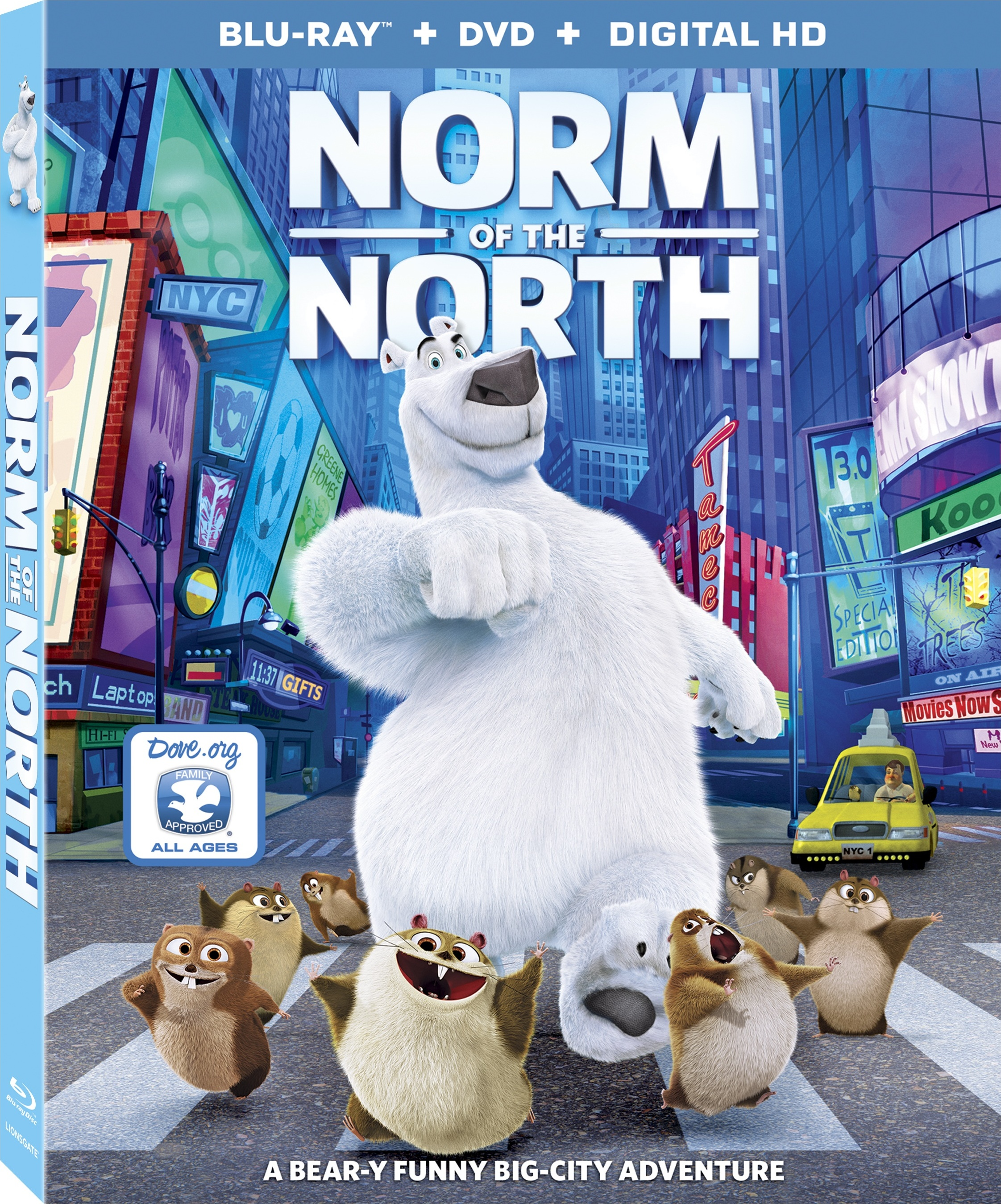Misiek w Nowym Jorku / Norm of the North