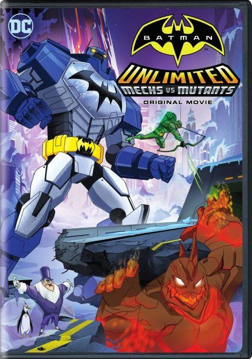 Batman Unlimited Mech vs Mutants