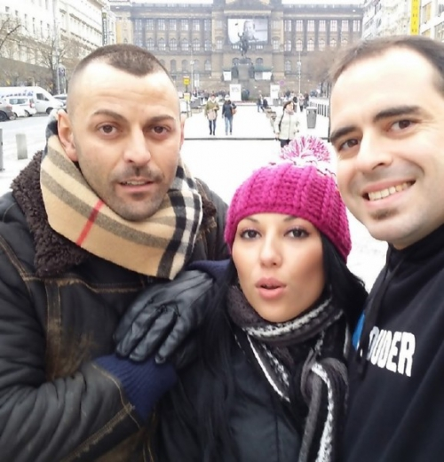 Adele Sunshine, Joel Acosta. Valentina Sweet, Xavi Photo - Heating Up Prague
