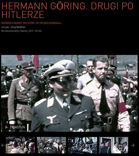 Hermann Göring. Drugi po Hitlerze / Goering's Secret. The Story of Hitler's Marshall