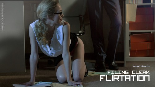 Angel Smalls – Filing clerk flirtation