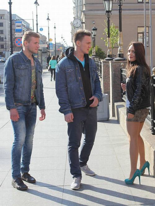 Dominika, Igor, Egor - Super Hot Public Porn Video With a Cheating Wife