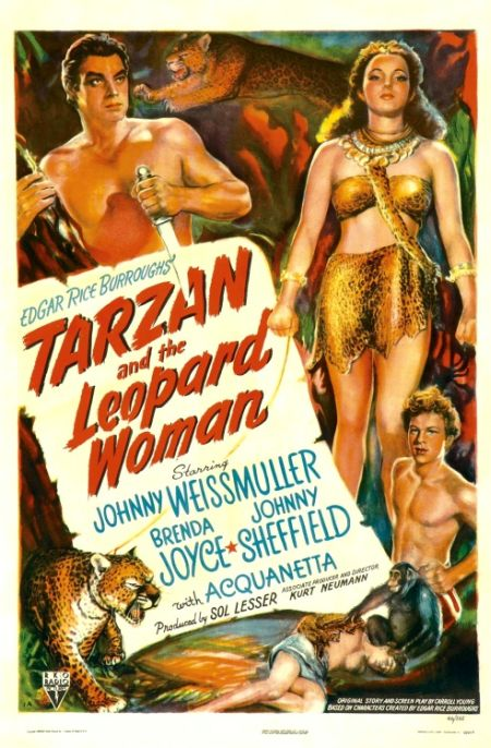 Tarzan i kobieta lampart / Tarzan and the Leopard Woman