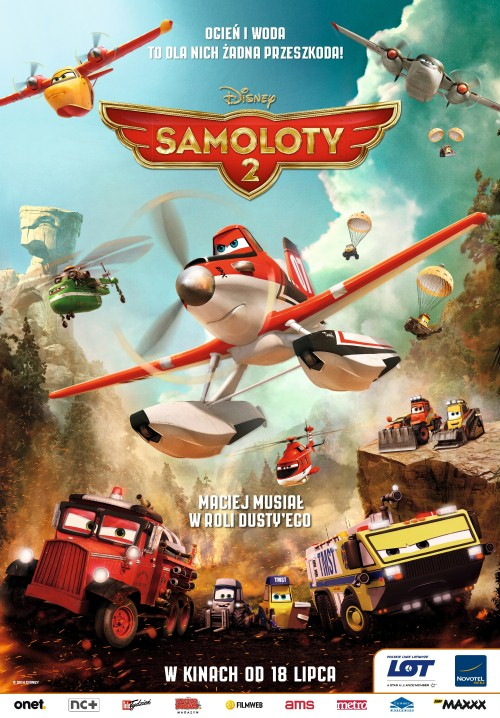 Samoloty 2 / Planes Fire And Rescue