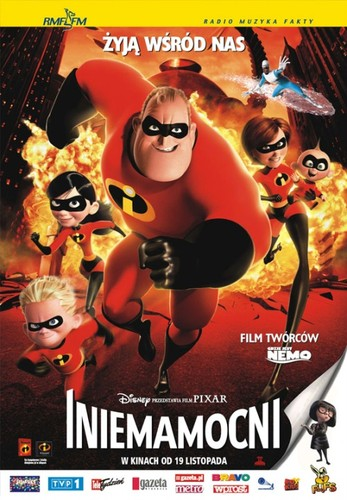 Iniemamocni / The Incredibles