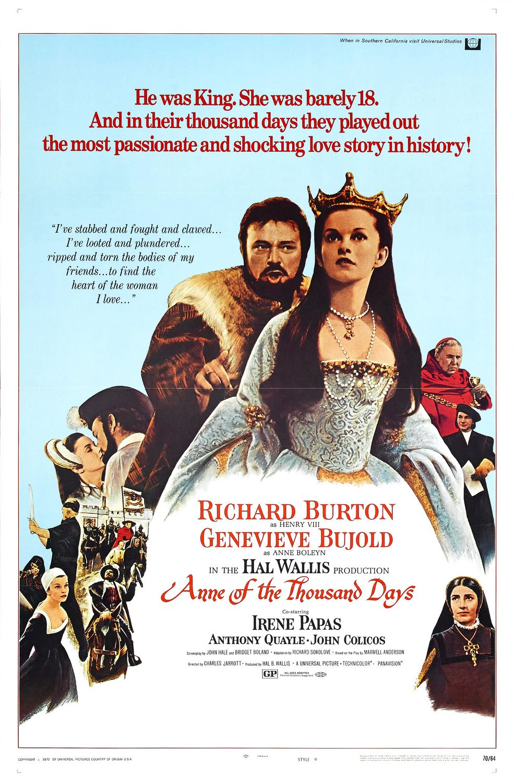 Anna tysiąca dni / Anne of the Thousand Days