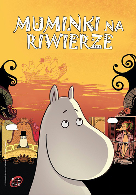 Muminki na Riwierze / Moomins on the Riviera