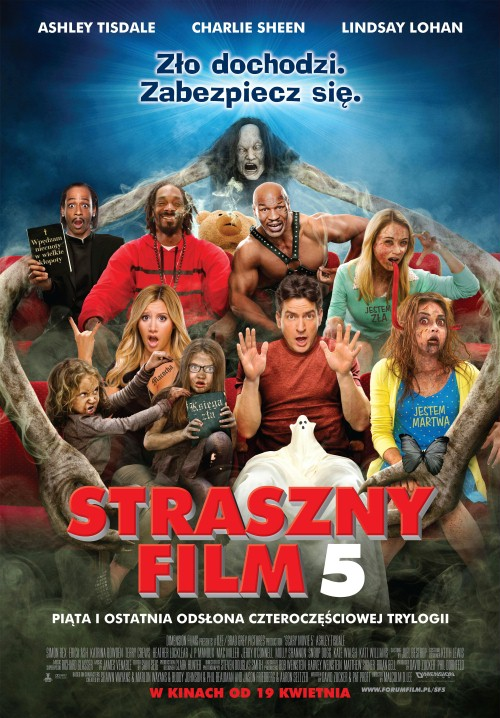 Straszny film 5 / Scary movie 5