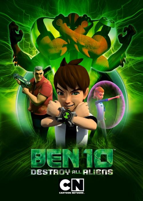Ben 10 Zniszczyć Wszystkich Kosmitów / Ben 10 Destroy All Aliens