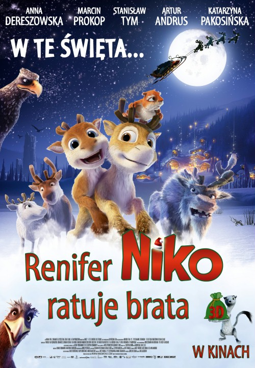 Renifer Niko ratuje brata / Niko 2: Little Brother Big Trouble