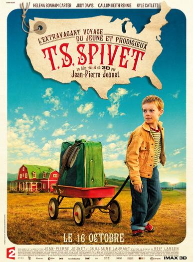 Świat według Spiveta / The Young and Prodigious T.S. Spivet