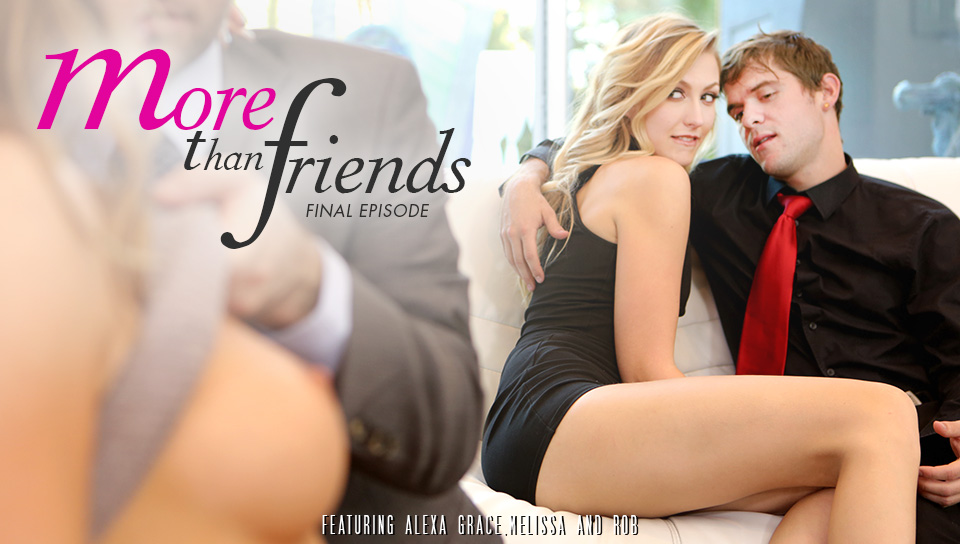 Melissa Moore, Alexa Grace - More Than Friends, Episode 4