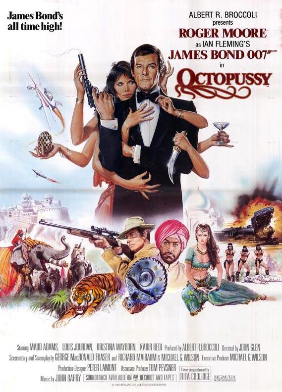 James Bond - Ośmiorniczka / Octopussy