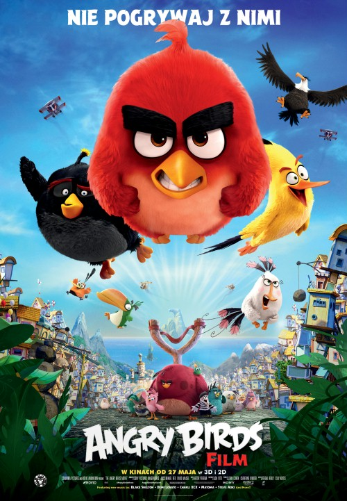 Angry Birds Film / The Angry Birds Movie / Angry Birds