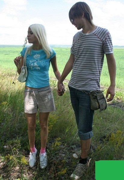 Vally, Sheila - Horny teens having wild group sex outdoor