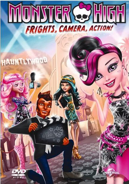 Monster High: Strach, Kamera, Akcja! / Monster High - Fright, Camera, Action!