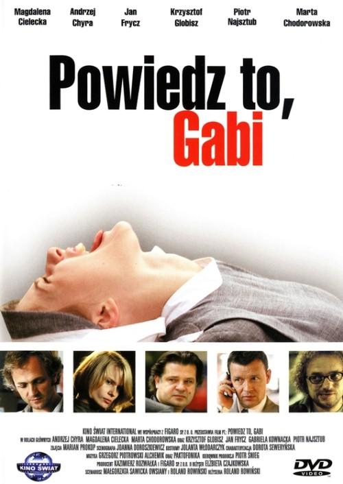 Powiedz to, Gabi