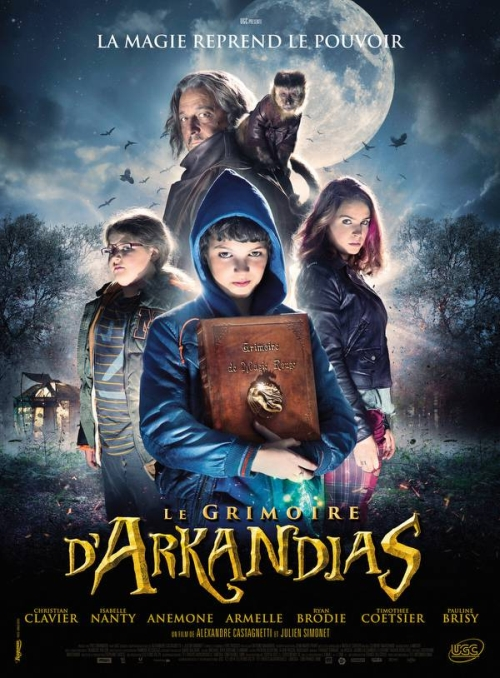 Księga czarów Arkandiasa / The Secret of Arkandias / Le grimoire d'Arkandias