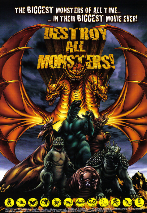 Zniszczyć wszystkie potwory / Destroy All Monsters